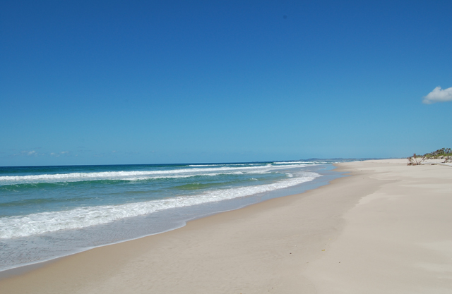 Pomene Beach And Estuary Pomene Bay Beaches