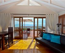 Honeymoon suite with large private ocean view balcony