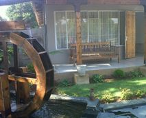 Front of the house - Waterwheel