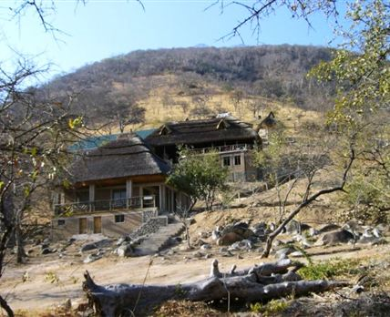 View of the lodge.