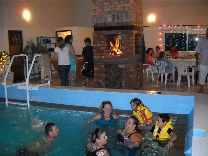 Indoor Pool Braai Play Area