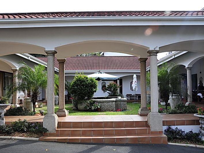 Centre court b b in durban for Koi ponds durban