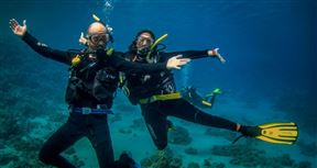 5 Night, 6 Day PADI Diving Course Package Photo