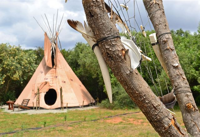 Lancewood TiPi Lodge @ Assegai Rest