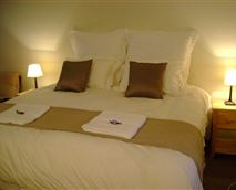Our bedrooms have comfortable king size or single beds