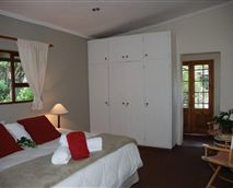 2nd Bedroom with king size bed or twin and semi attached bathroom.
