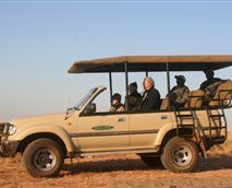 Being an area rich in wildlife, game viewing is exceptionally rewarding and is enjoyed in an open 4x4 game vehicle.