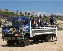 We use our 4x4 truck for diver and group transfers to and from the beach.