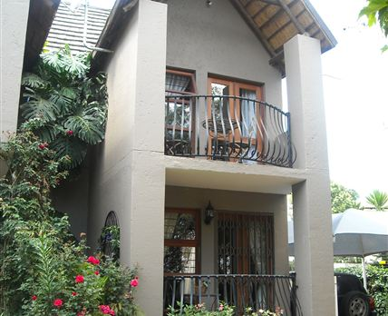 A picture of the right wing, showing Serenity's private patio and Pascali's balcony