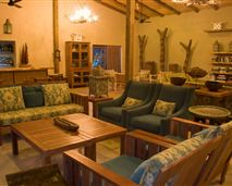 The main area of Rocktail Beach camp has plenty of space in which people can unwind. © Copyright - Wilderness Safaris. Our images are free for use by anyone as long as they are being used to promote Wilderness Safaris properties or safaris, and that credit is given to Wilderness Safaris