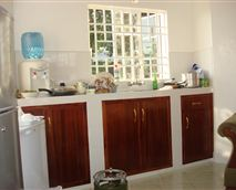 Self-catering kitchen
