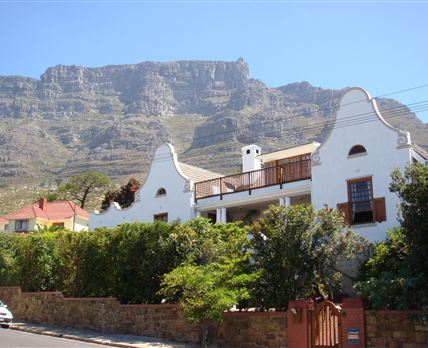 Situated on the slopes of Table Mountain