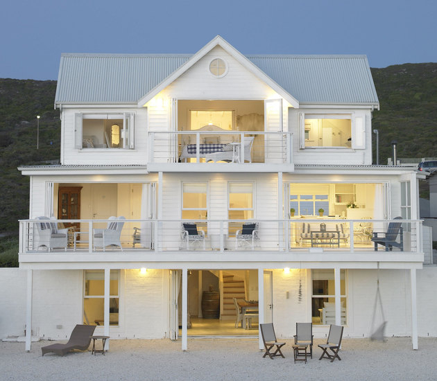 White Beach House Magnificent Of The White House Beach Villa Yzerfontein Photo