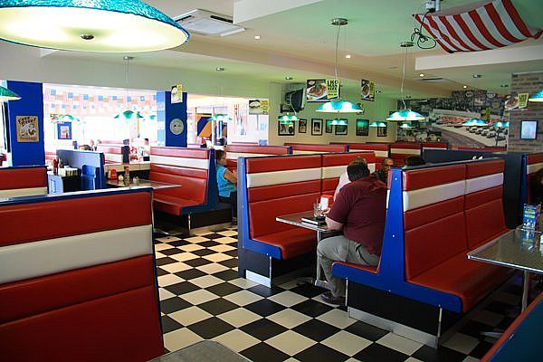 60s diner restaurant