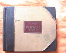 Visitors book 1943