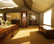 Luxury Tent interior