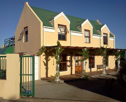Cape Dutch style self-catering accommodation.